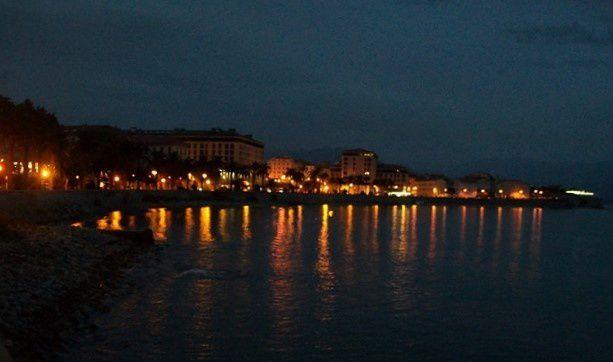 Les lumières de la ville...