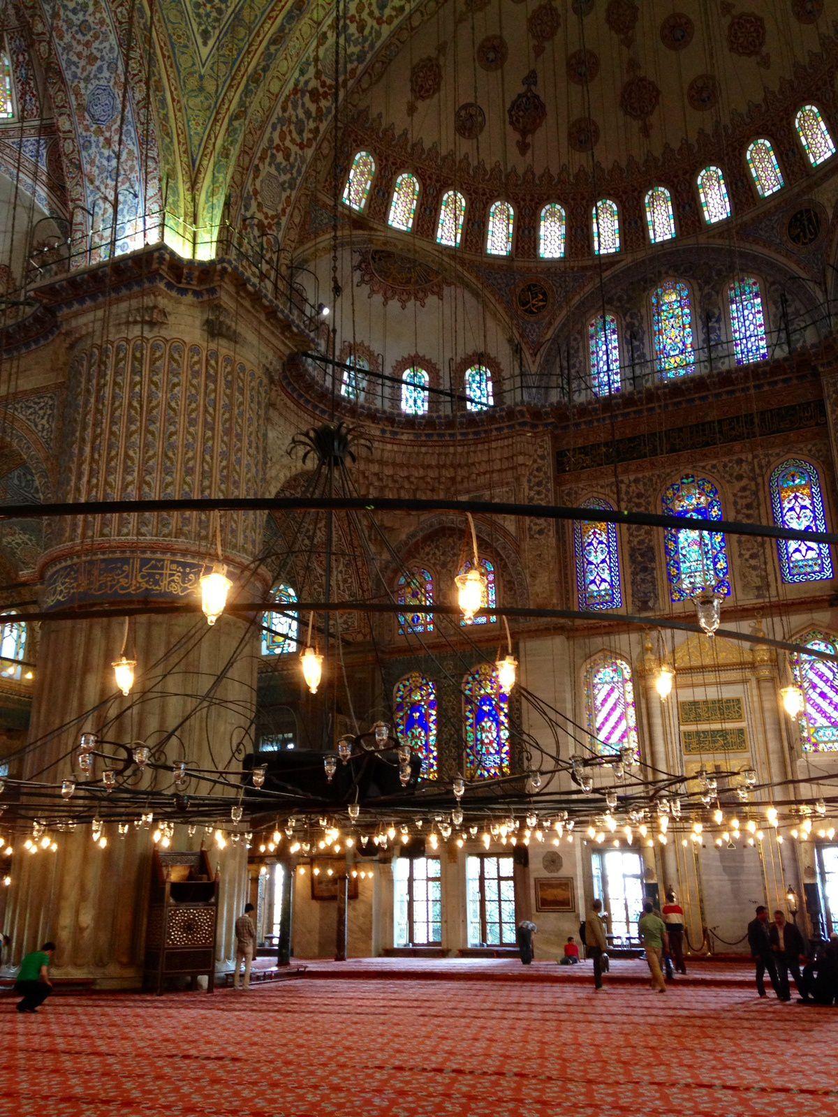 La mosquée bleue!!!