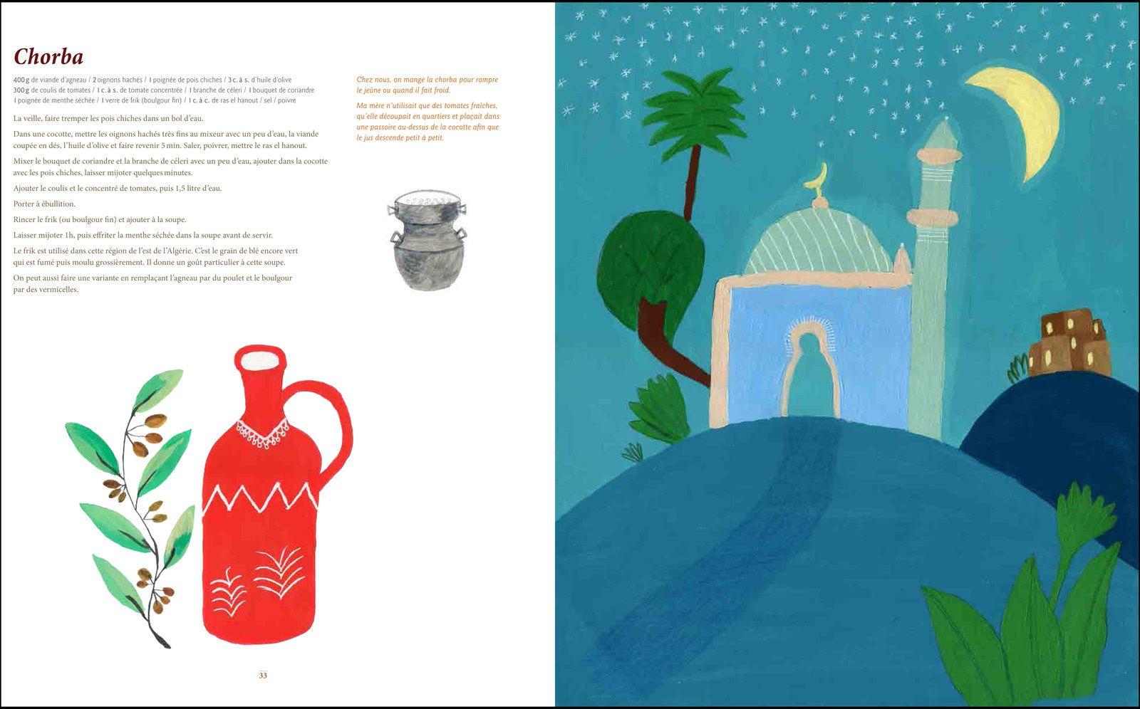 Les recettes du Ramadan par Fouzia.