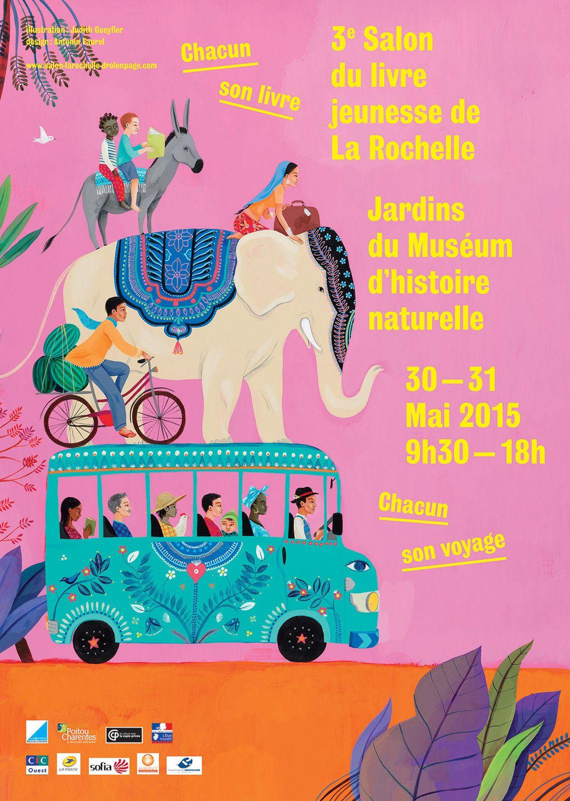 Salon du livre jeunesse de La Rochelle les 30 et 31 Mai 2015