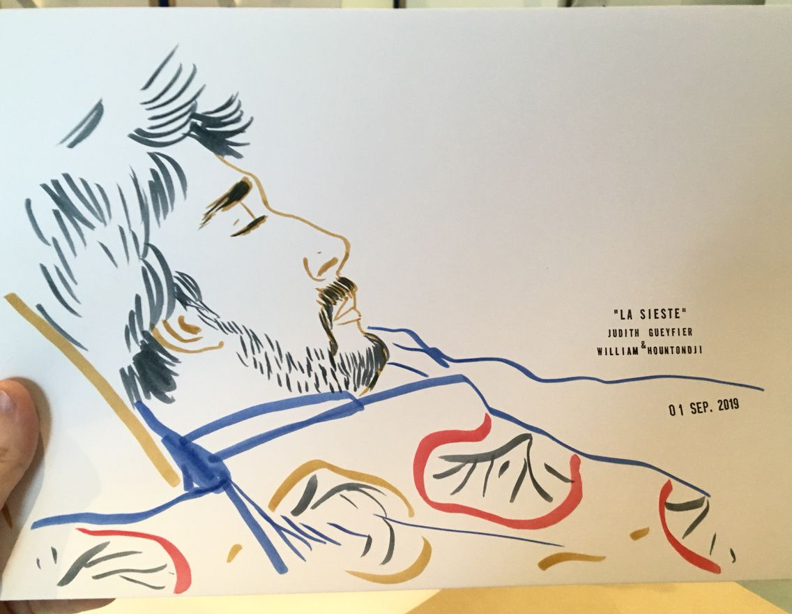 Siestes musicales dessinées pour Jazz à la Villette