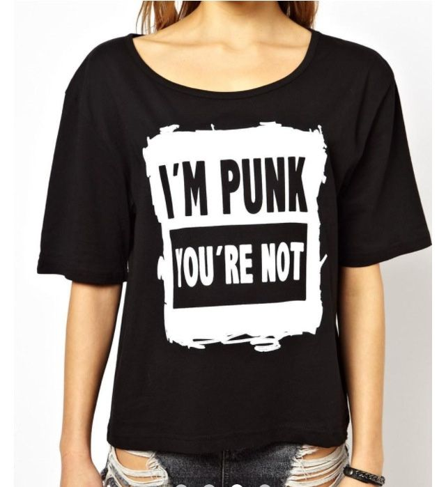 I'm Punk you're Not