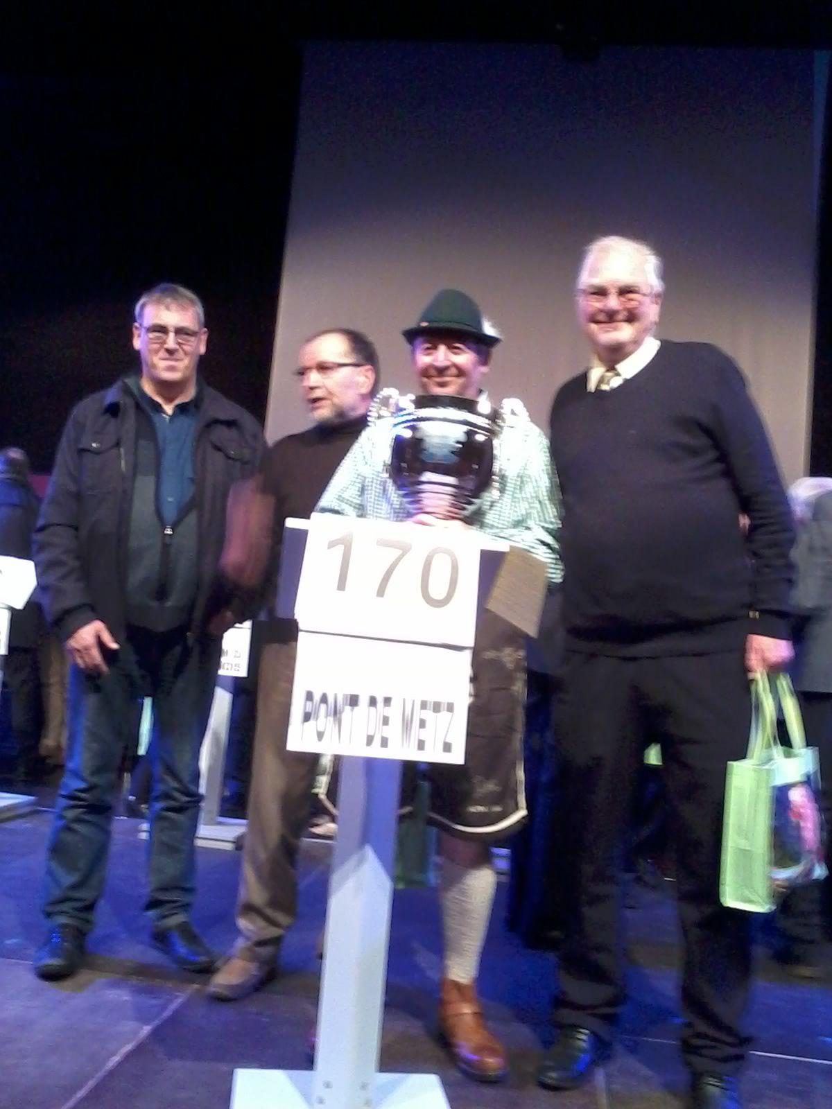 Champions pour le pays de Somme : PONT DE METZ 1er !