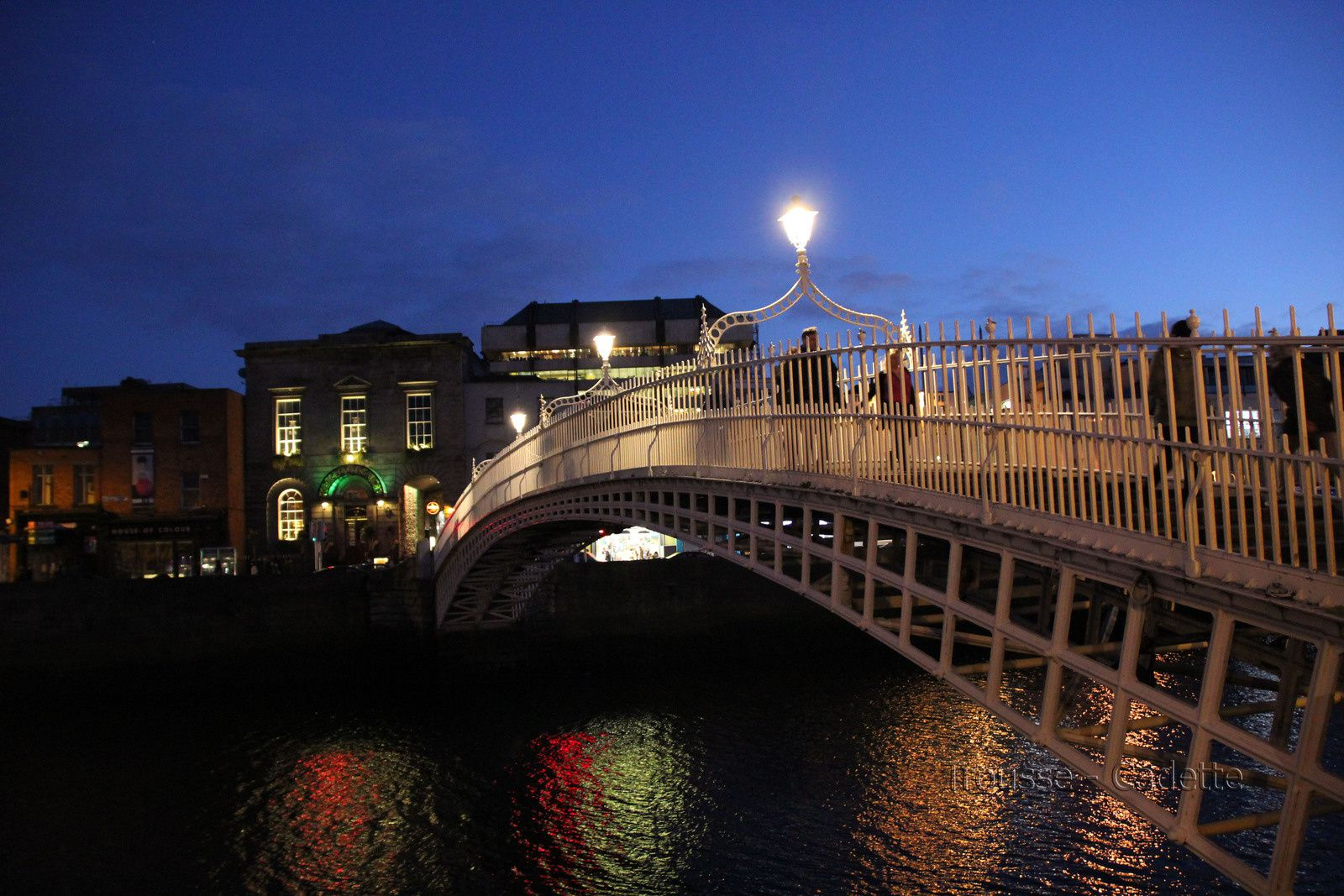 Le Ha'Penny Bridge - DUBLIN