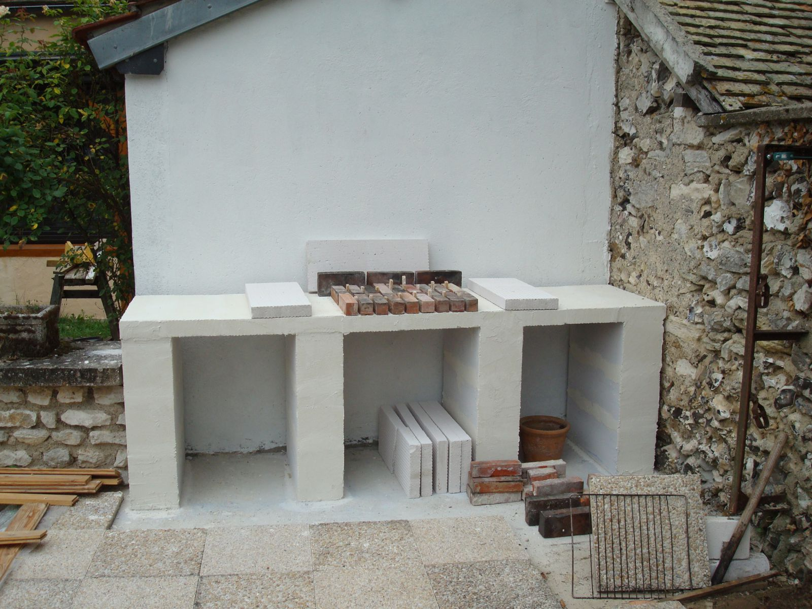 Construction D Un Barbecue Sur Mesure Renaud Le Bricolo Over Blog Com