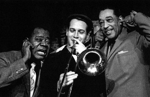 Louis Armstrong, Paul Newman et Duke Ellington...
