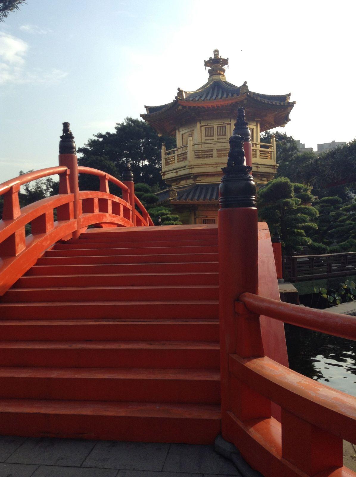 Musée du Thé, le Nan Lian garden et se zénitude, building feng shui  ?
