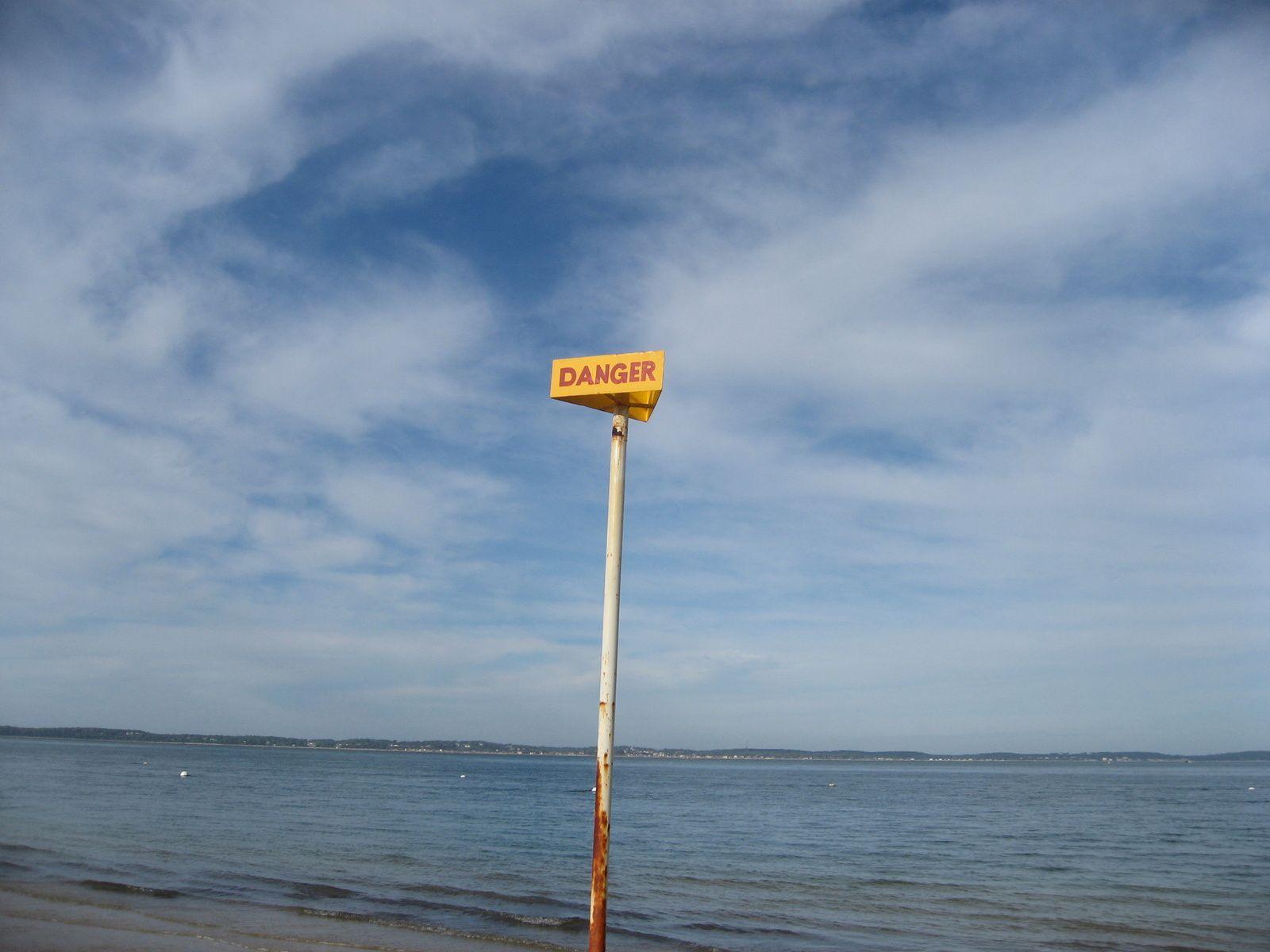 Arcachon, la plage abandonnée aux mouettes et les interdits