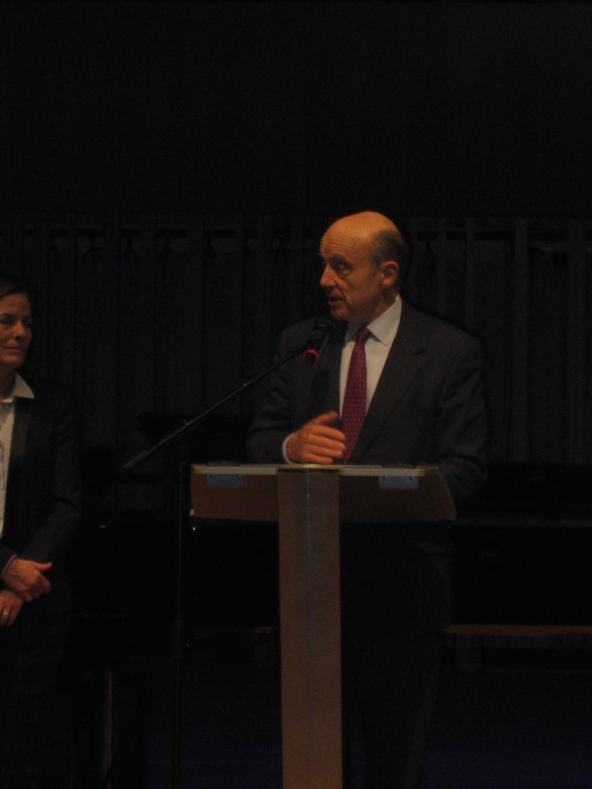 Le Pass Senior, l' Auditorium de Bordeaux, M. Alain Juppé maire de Bordeaux