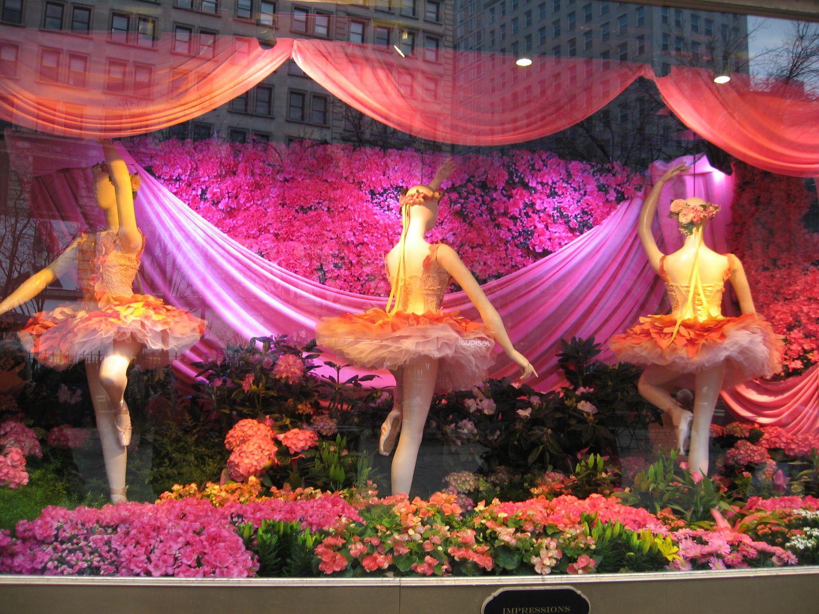 Macy's Flowers Show, so cute comme diraient les américains .