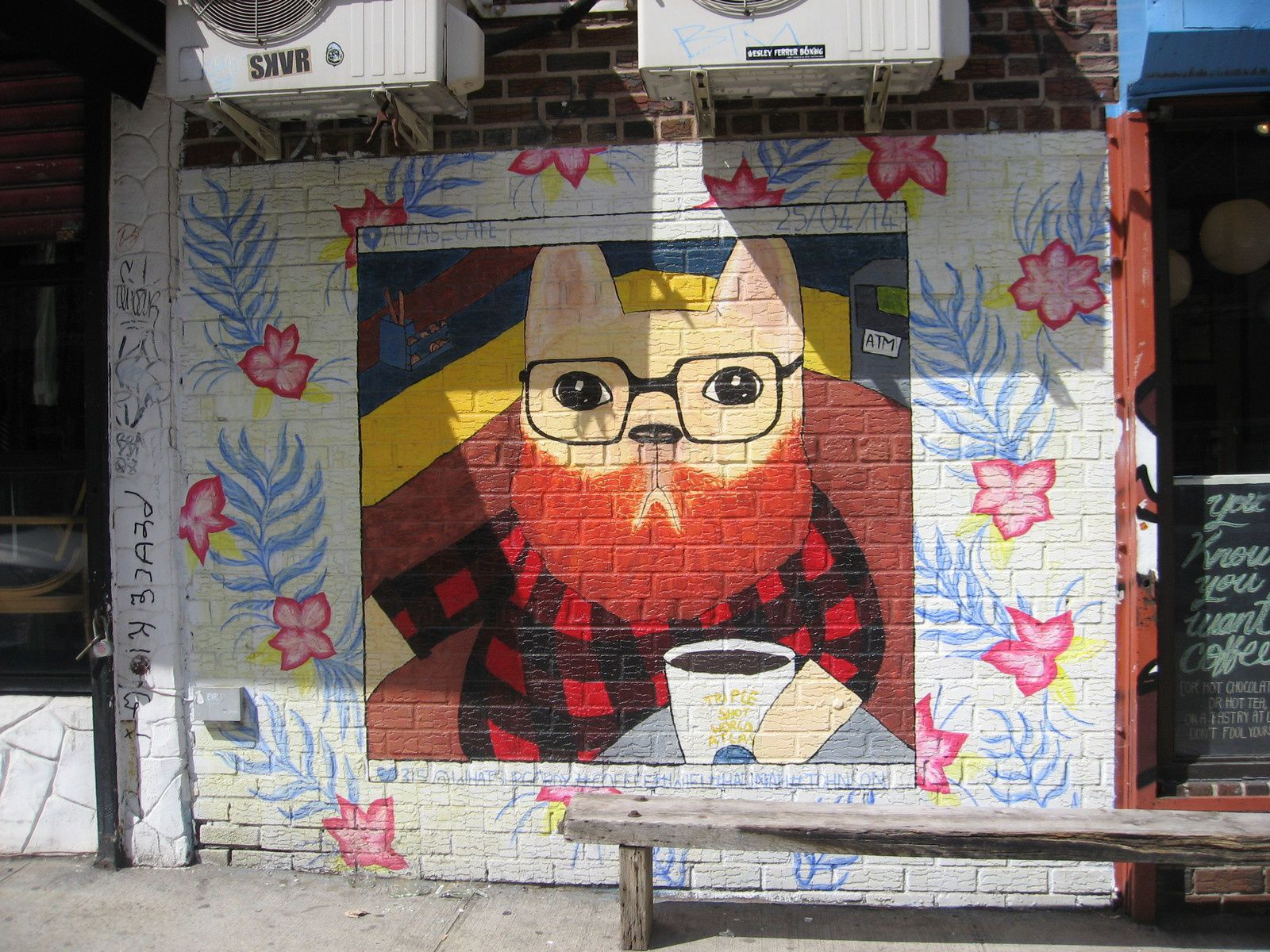 Balade à Williamsburg, street Art
