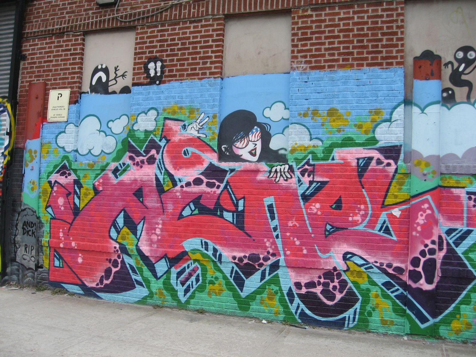 Balade à Bushwick haut lieu du Street Art