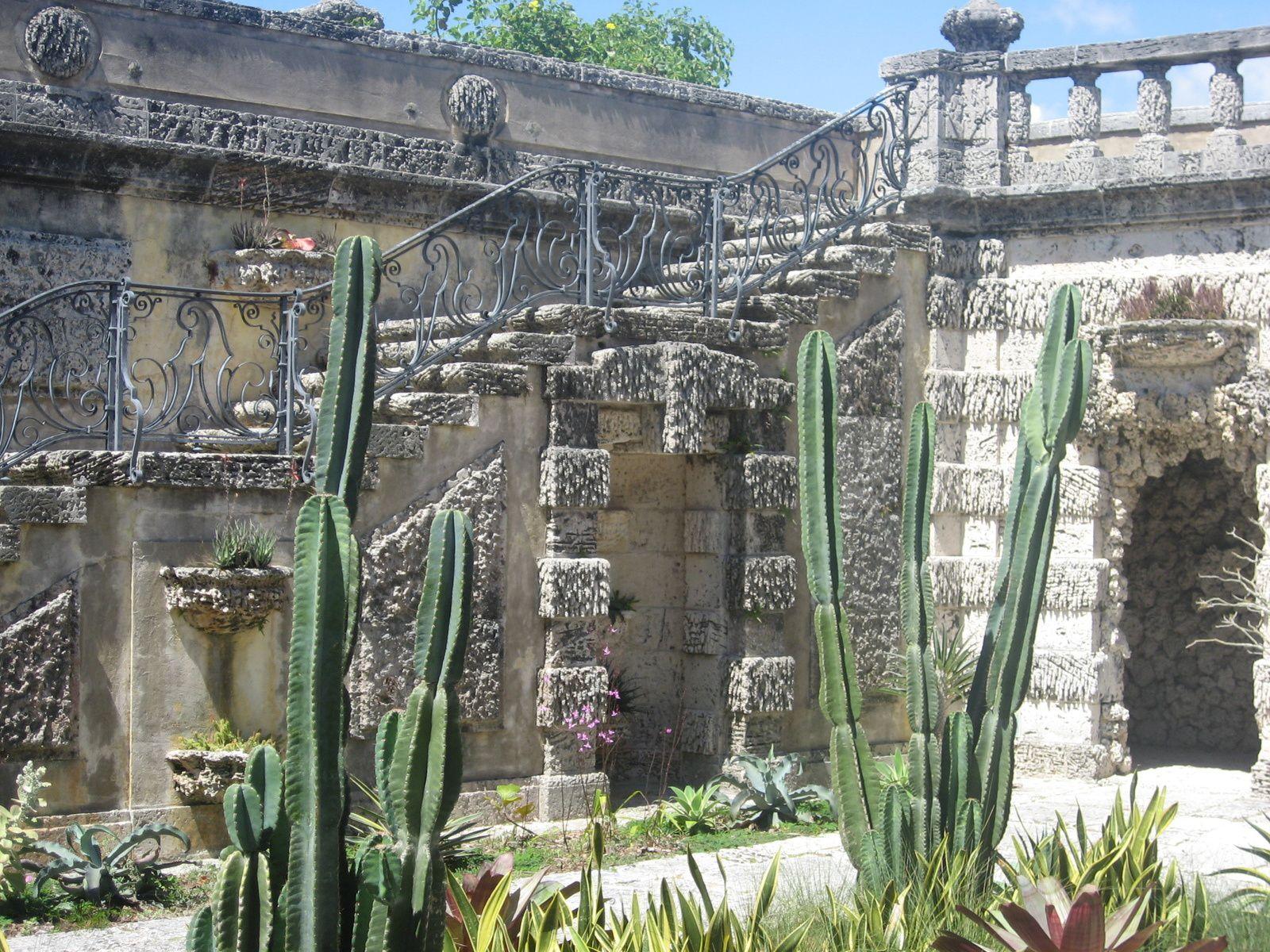 The Vizcaya muséum, un petit air de Venise et de très beaux jardins.