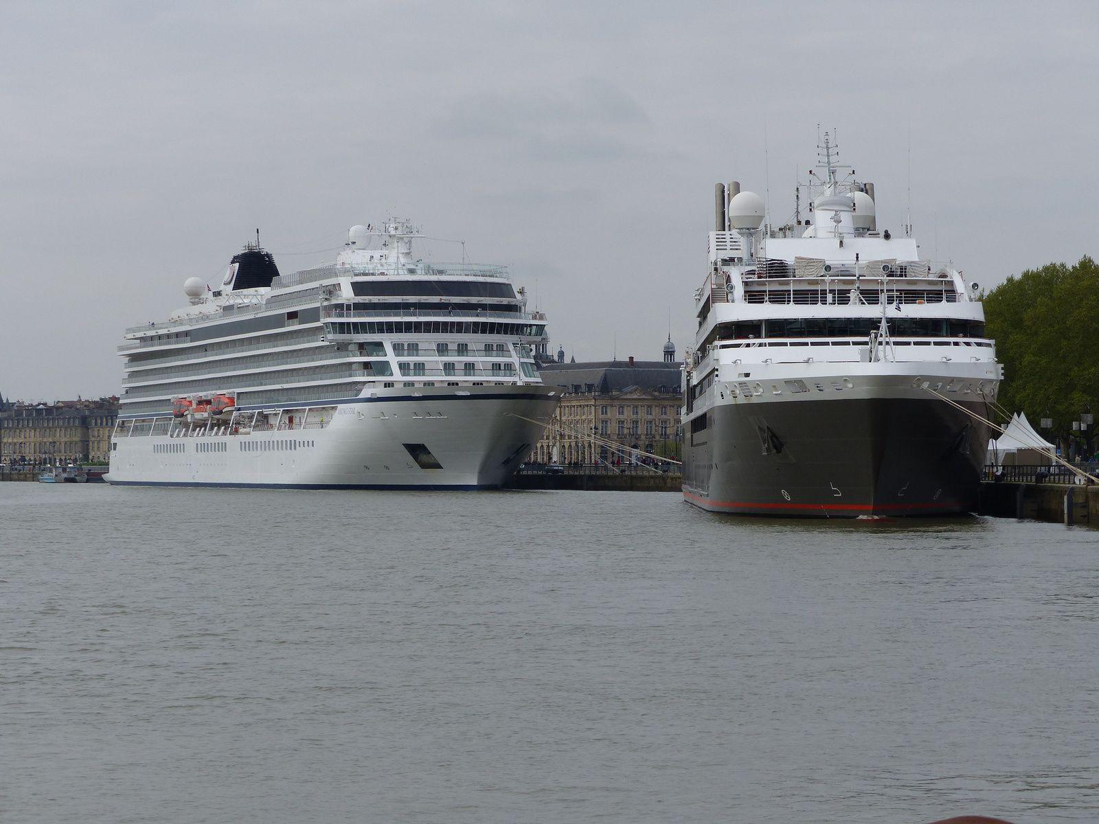 The high season of cruises begins in Bordeaux