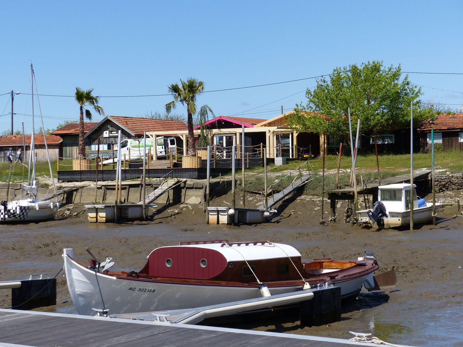 Pinasses et alentours du Port ostréicole