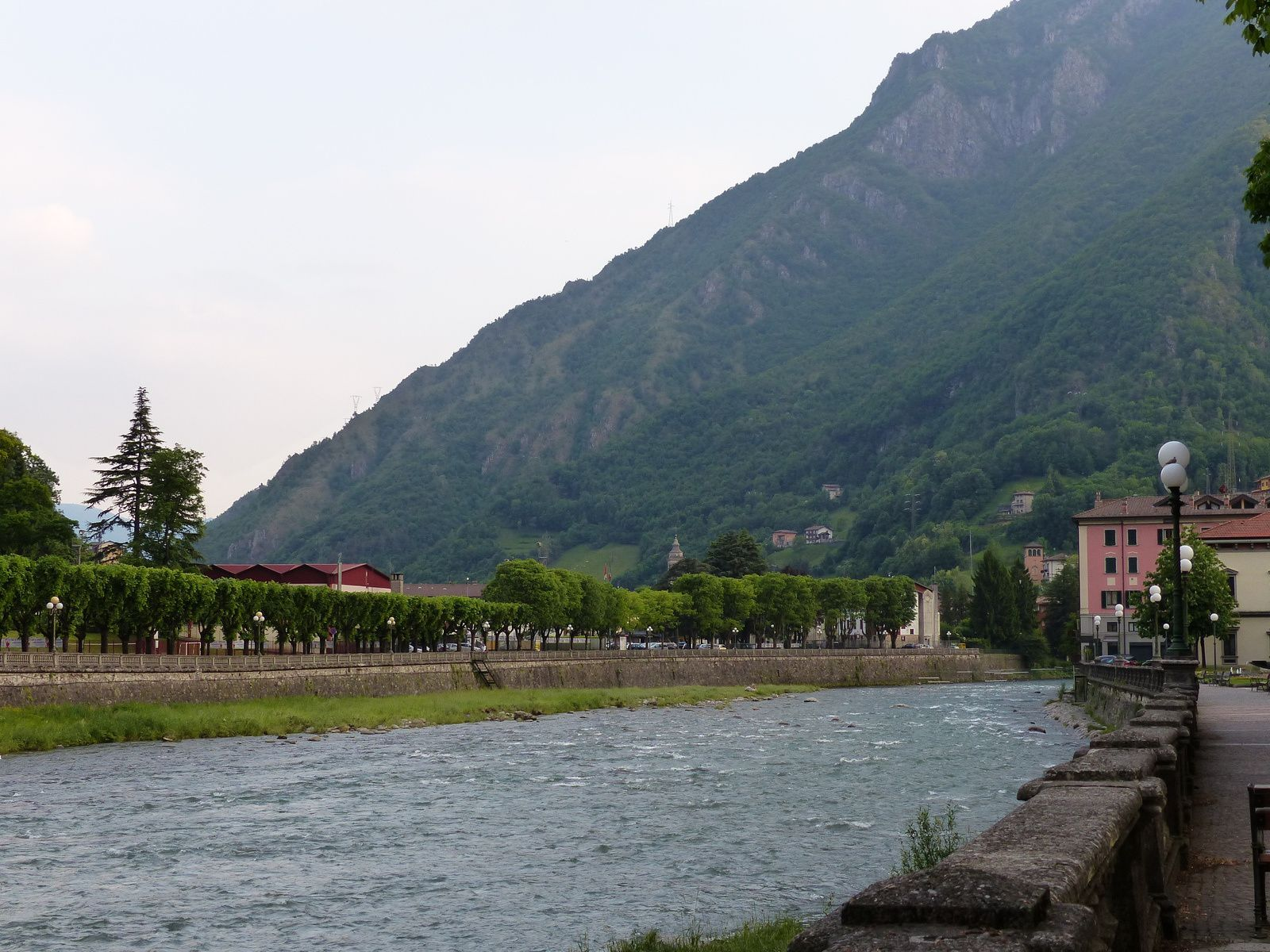 San Pellegrino et son grand hôtel