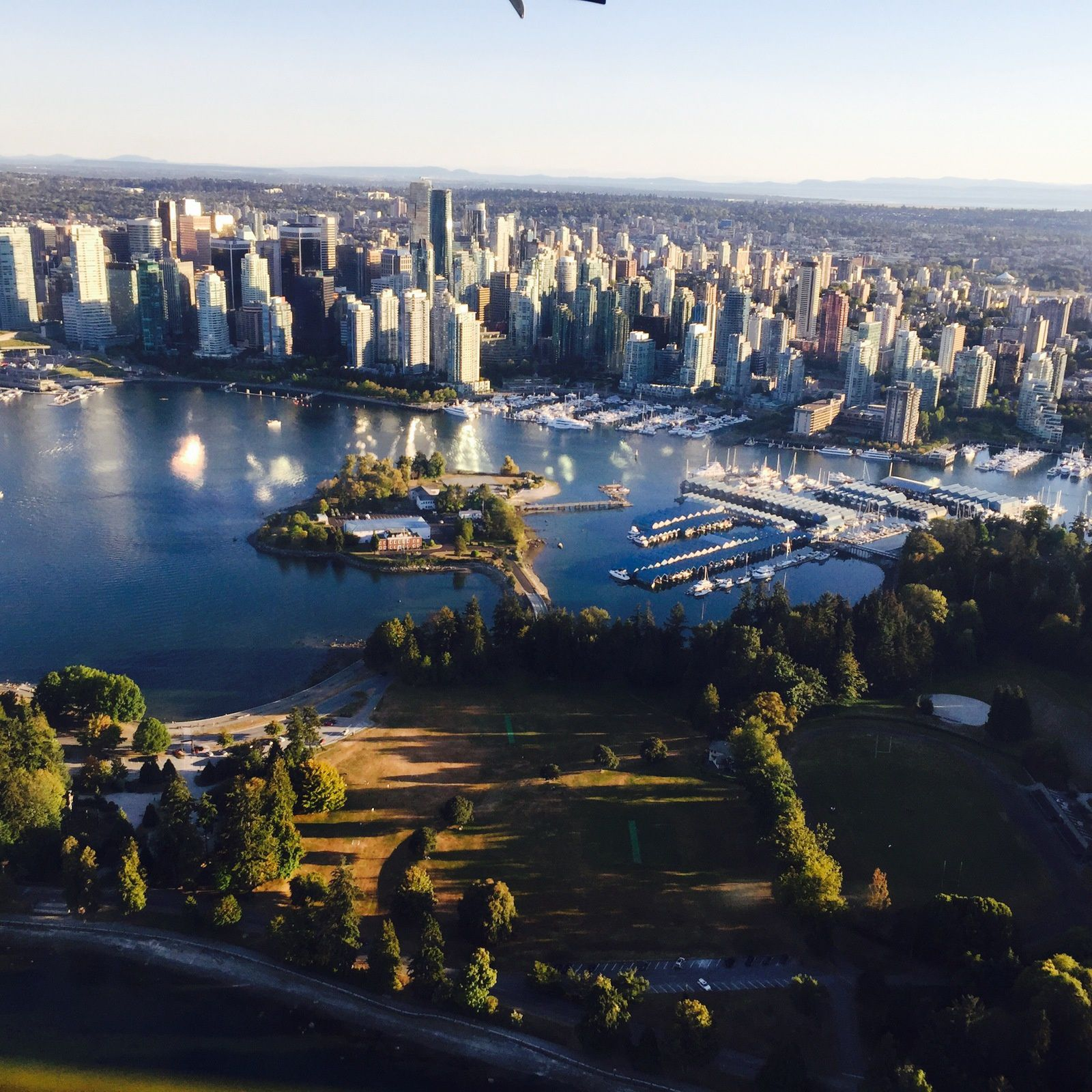 Vancouver sky view