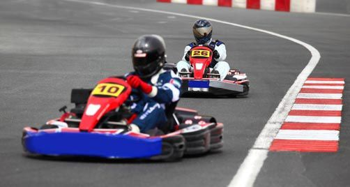 Karting for Go kart interieur