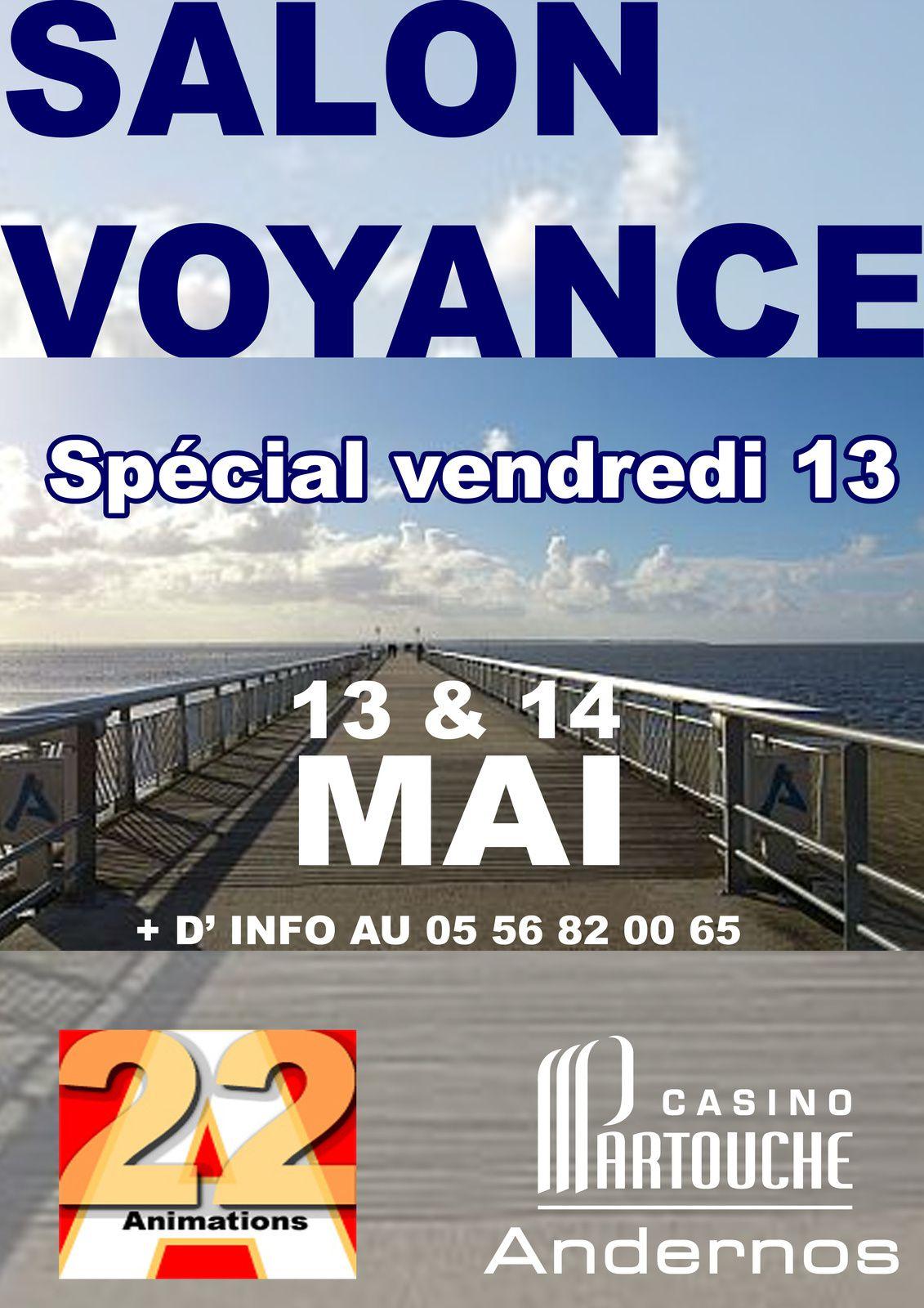 Salon voyance sp cial vendredi 13 voyance premiere for Salon de la voyance aix les bains