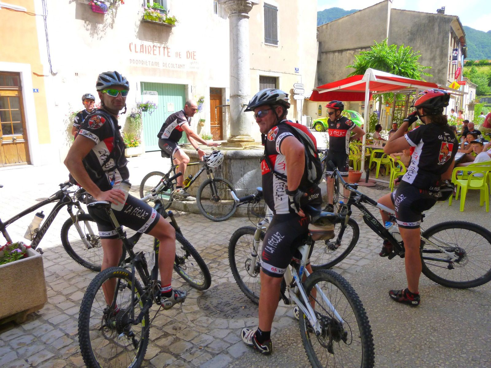 Saillans : stage vtt