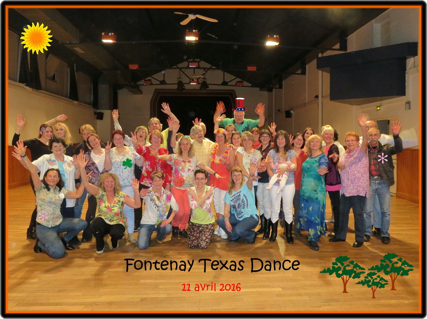 BIENVENUE à FONTENAY TEXAS DANCE