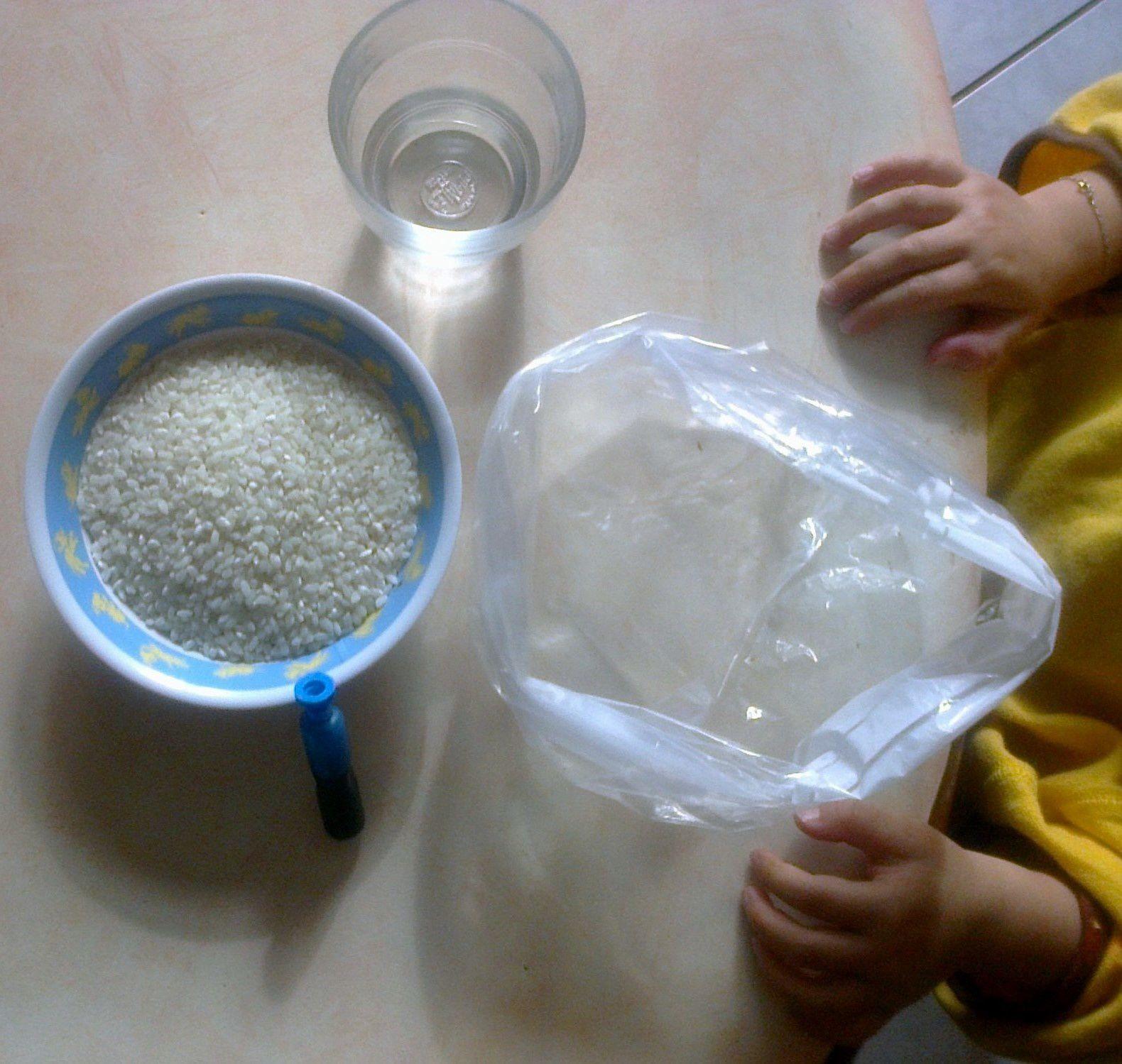 Fabrication du riz coloré