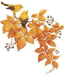 Activité automne : empreintes de feuilles (peinture)