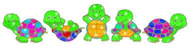 deux jolies petites tortues
