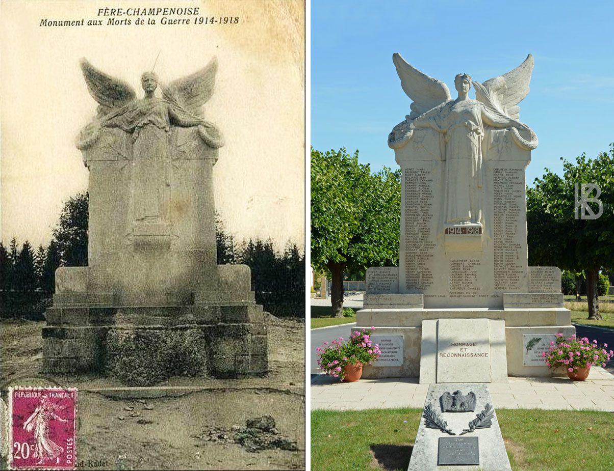 Fère-Champenoise - Le Monument aux Morts