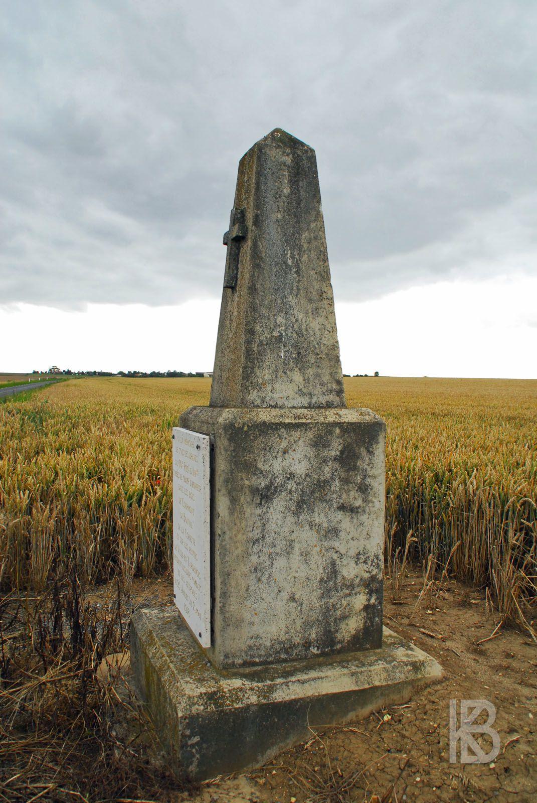 Ville-en-Tardenois - Monument au 60e R.I.