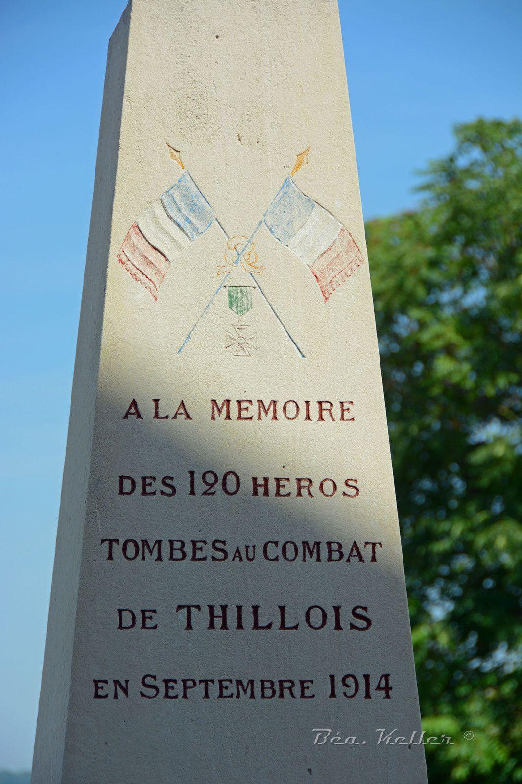 Thillois : le 39e R.I. au combat en septembre 1914