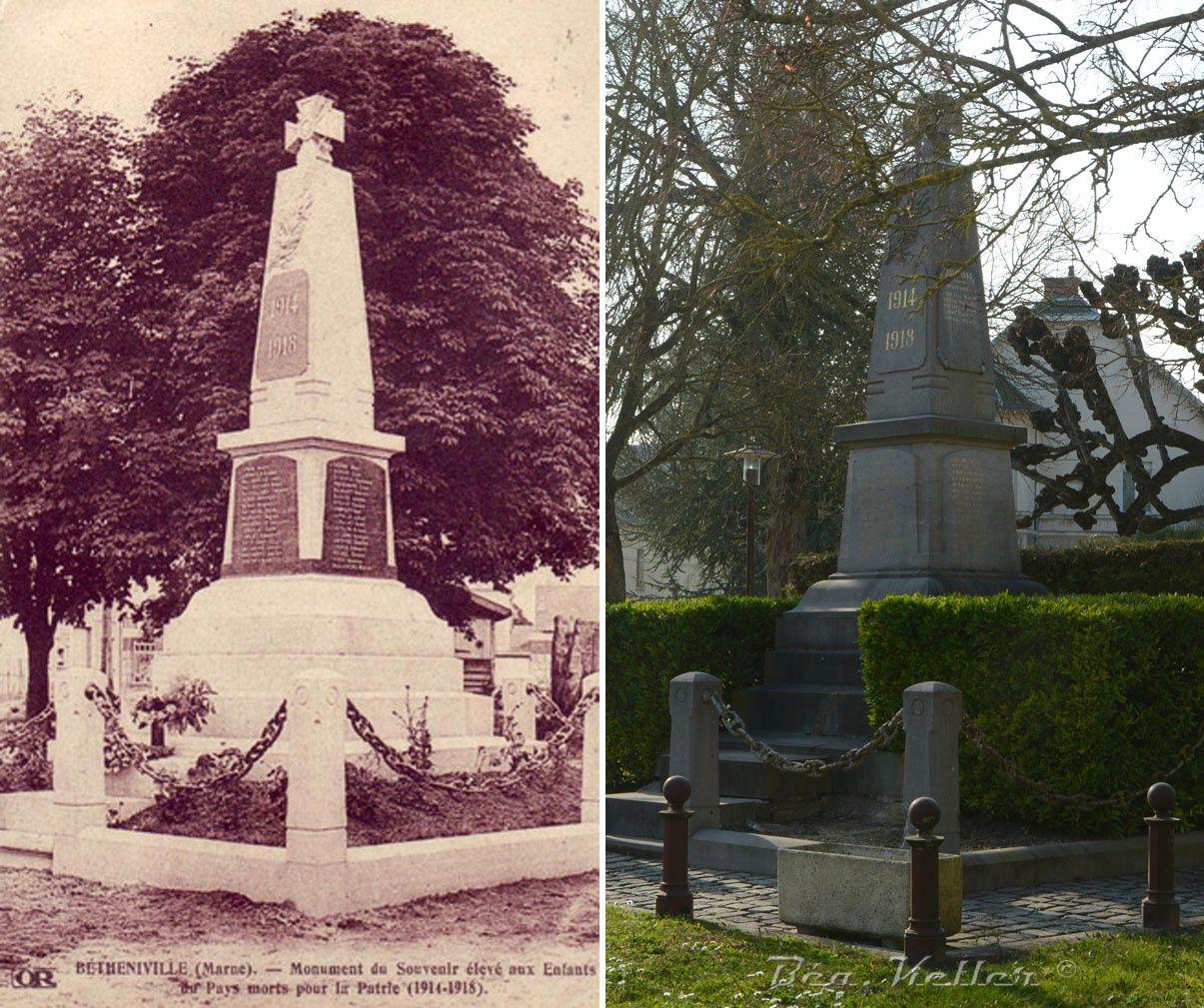 Betheniville - Le Monument aux Morts
