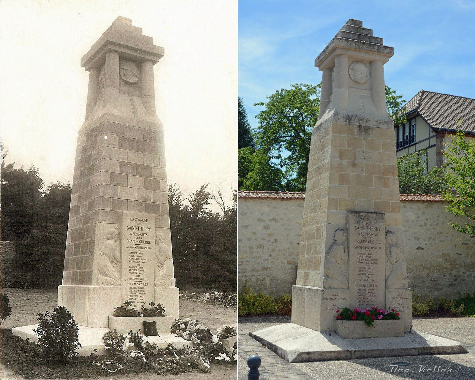 Saint-Thierry - Monument aux Morts