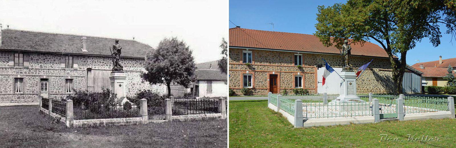 Cernay-en-Dormois : le Monument aux Morts