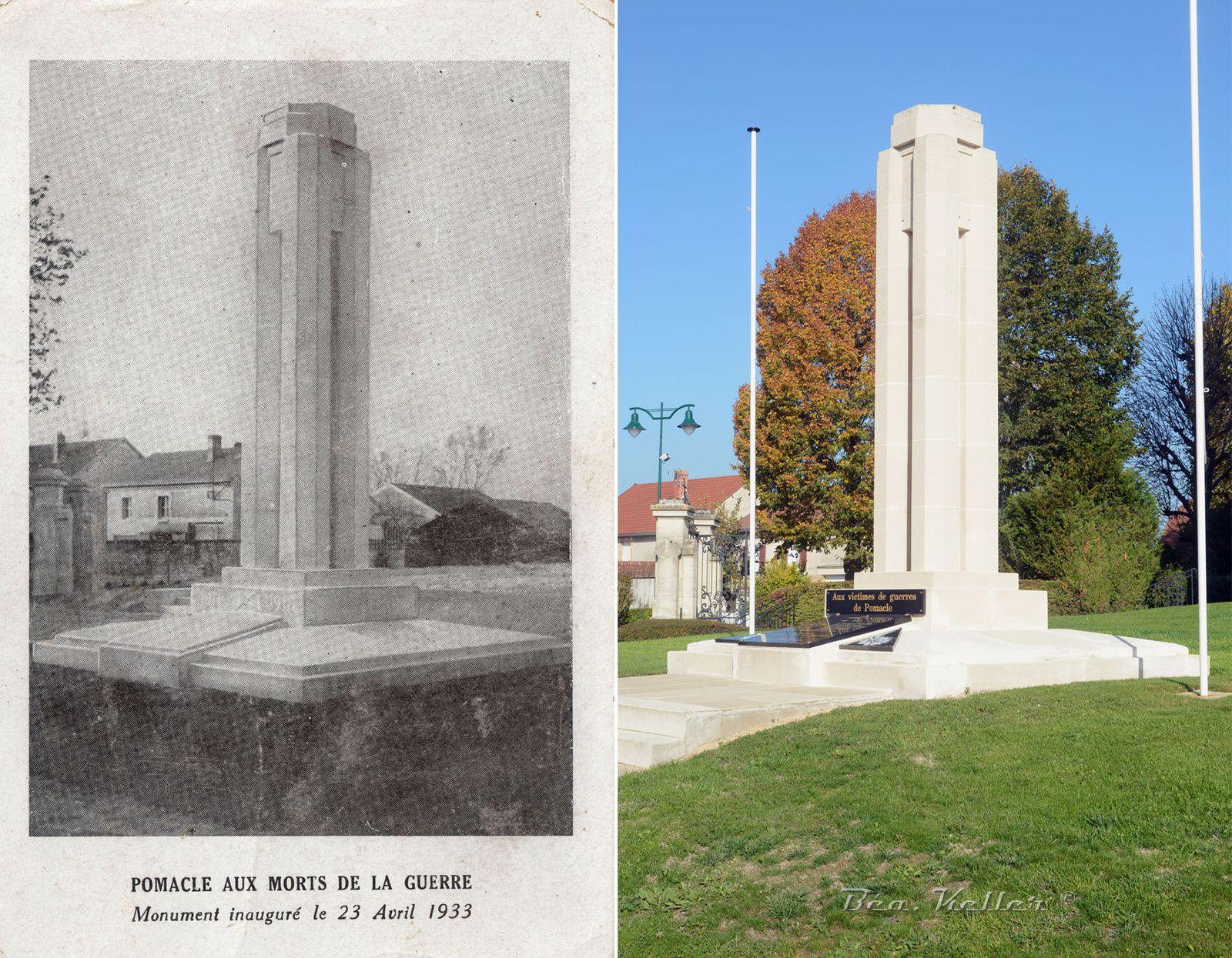 Pomacle - Monument aux Morts