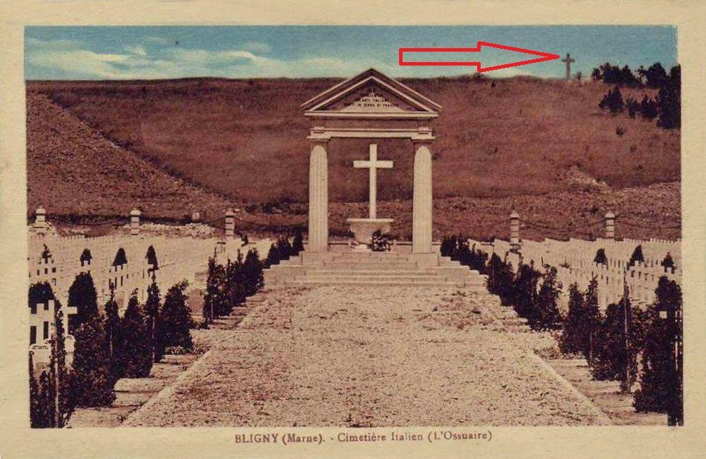 Bligny : Monument à la 19e Division Britannique