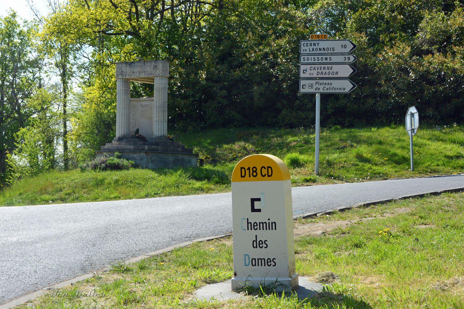 Le Vieux Craonne : Monument aux Morts
