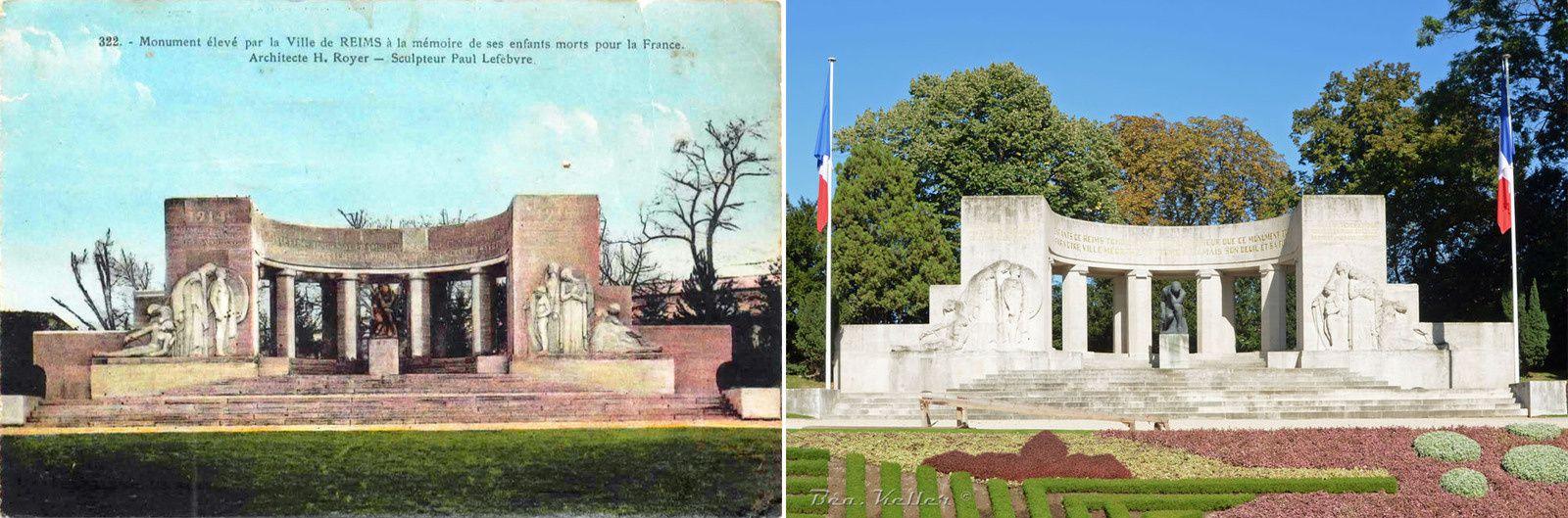 Reims : Un Monument aux Morts Pédagogique