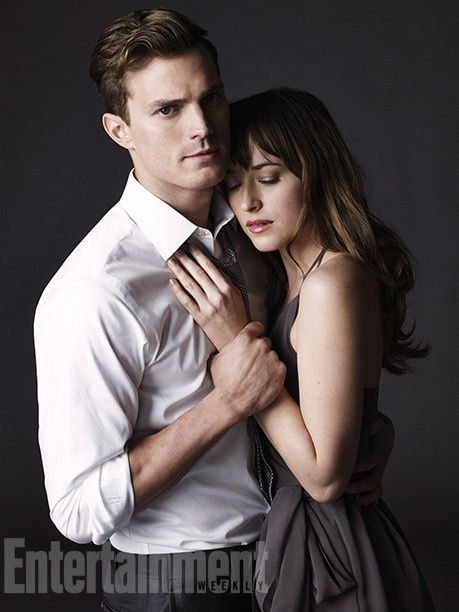 50 Nuances de Grey : Jamie Dornan et Dakota Johnson, posent en Une du magazine américain Entertainement Weekly