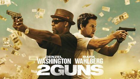 Concours : Gagnez un Blu-Ray du film &quot&#x3B;2 Guns&quot&#x3B; avec Denzel Washington et Mark Wahlberg