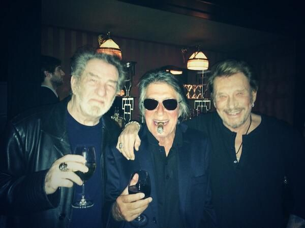 Crédit photo : Twitter/Johnny Hallyday