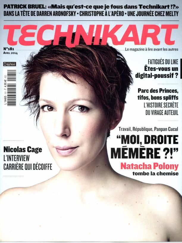 Natacha Polony pose nue pour le magazine &quot&#x3B;Technikart&quot&#x3B;