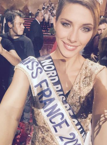 Camille Cerf élue Miss France 2015 !