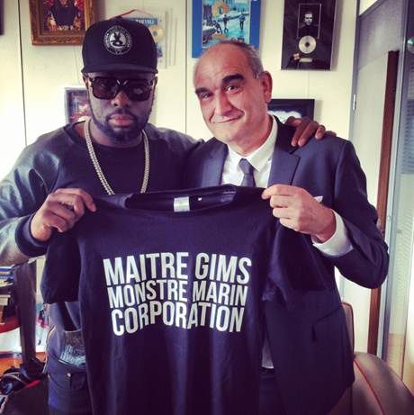 Maître Gims signe son label &quot&#x3B;Monstre Marin Corporation&quot&#x3B; avec Universal Music