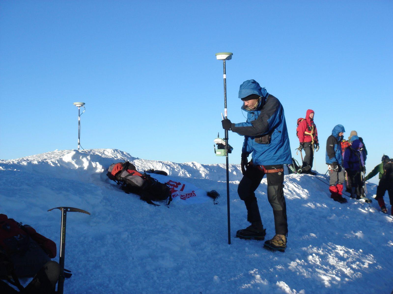 Altitude réelle du MONT BLANC à Chamonix http://www.geromegualaguidechamonix.com