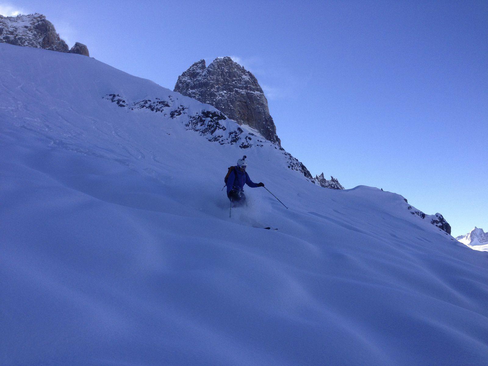 Free Ride, Ski Hors Pistes http://www.geromegualaguidechamonix.com