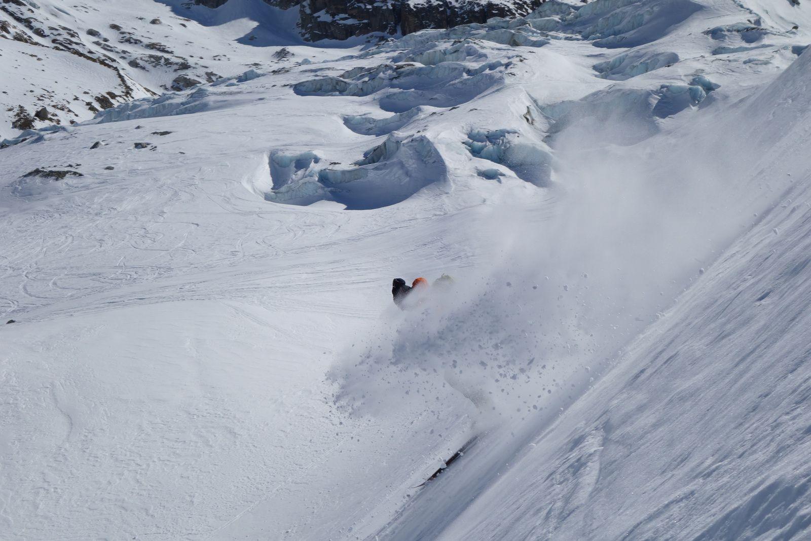 Free Ride, Hors Pistes, Chamonix Mont Blanc,Grands Montets http://www.geromegualaguidechamonix.com
