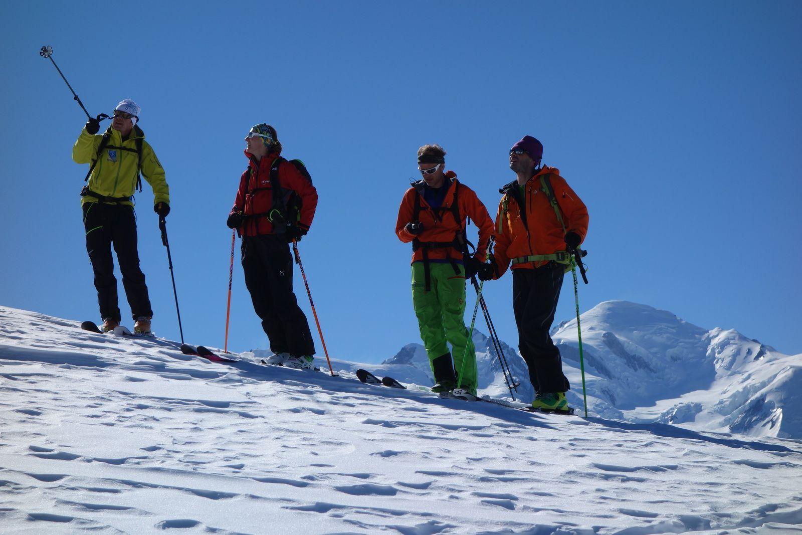 Free ride, hors pistes, Chamonix Mont Blanc http://www.geromegualaguidechamonix.com