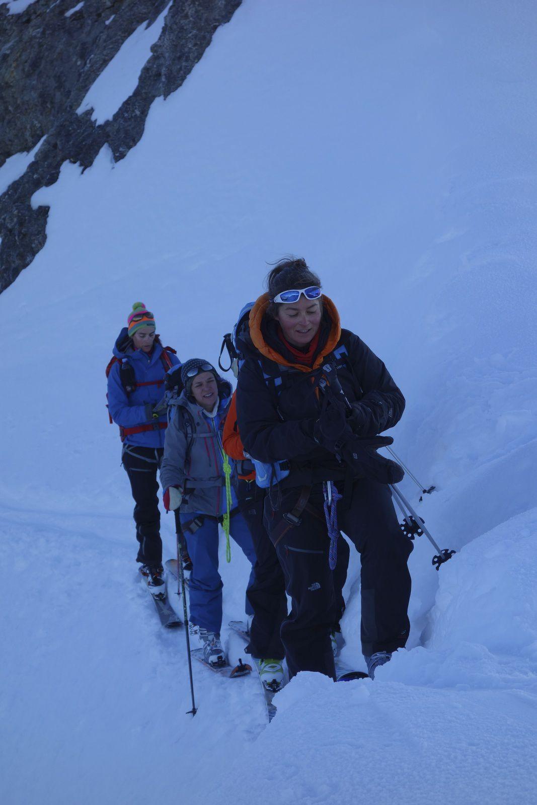 raid à ski dans les Wildstrubels avec Gérôme Guala Guide de Haute Montagne à Chamonix Mont Blanc http://www.geromegualaguidechamonix.com