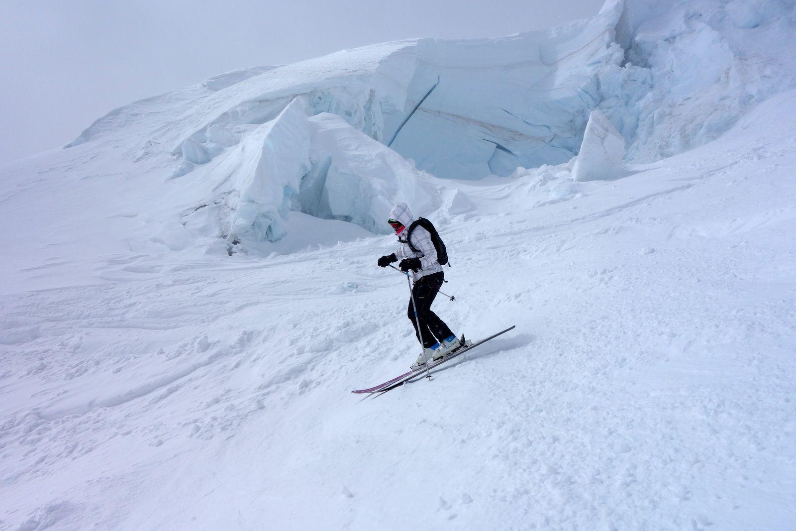 Ski dans la vallée de Chamonix,le Tour, Brévent, Flégère, les Grands Montets, Aiguille du Midi et Courmayeur en Italie